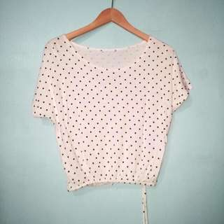 Mini Polkadot Top