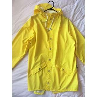 RAINS Jacket Yellow