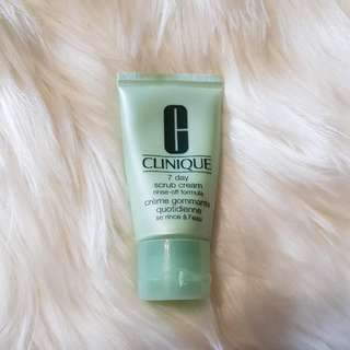 Clinique Facial Scrub
