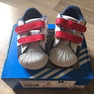 Authentic Adidas Prewalker Baby Shoes