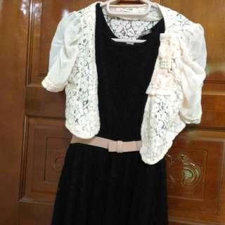 黑色洋裝 Or 粉色小外套 #三百元外套