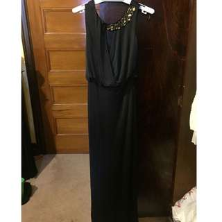 Lipsy Beaded Formal Dress Size 6