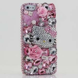 Hand Crafted Hello Kitty Diamanté Phone Case