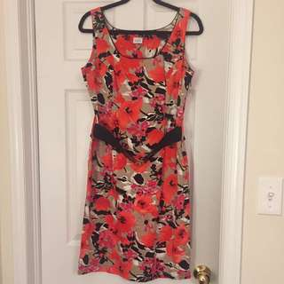 Suzy Shier Dress Size Lg (large) Comes With Black Belt