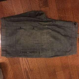 Dark Gray denim shorts