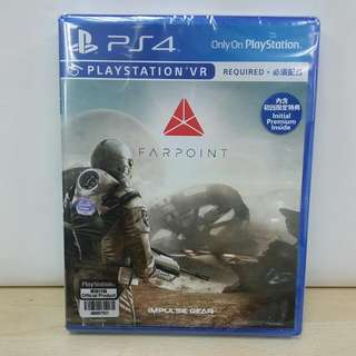 (Brand New) PS4 Farpoint  with Bonus Downloadable Contents / R3 (VR Required)