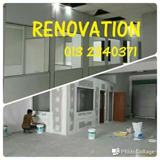Office Renovation,Gypsum Board Partition,Ceiling,Wall Paper,Carpet,Blinds,Paint Work,Electrical Wiring, Tinted Film, Office Furniture,Customized Wardrobe,Cabinets ,Build-in furniture, Ready Make Office Furniture,,,,