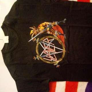 Kaos Slayer Show No Mercy Tour 1983