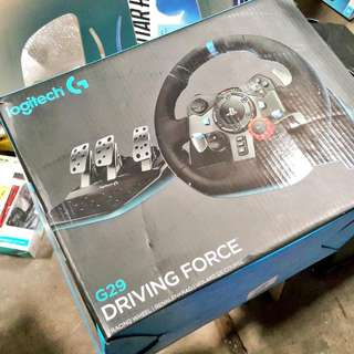 Brand new Logitech G29 Driving Force Wheel For PS3/PS4/PC