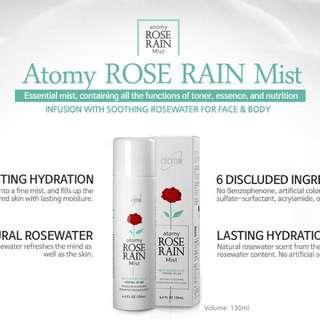 Atomy Rose Rain Mist 玫瑰舒缓喷雾