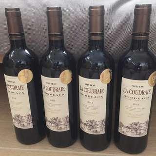 紅酒 Chateau La Coudraie Bordeaux 2012