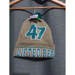LRG Core Collection 47 Lifted Beanie Beige/Green