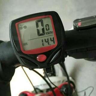 Speedometer Sepeda Digital Speedo Gowes Odometer LCD Anti Air - HPO003