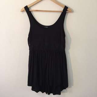 Bardot Black T-Shirt Dress Or Top