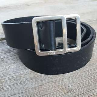 Kenzo Homme Leather Belt