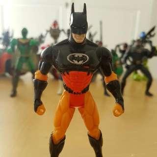 BATMAN ACTION FIGURES ORANGE