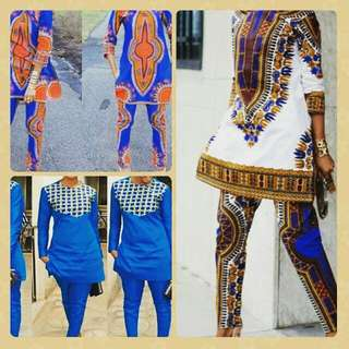 Fashion Modest African Chic