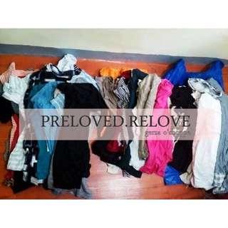 10pcs Prepack Preloved Blouses
