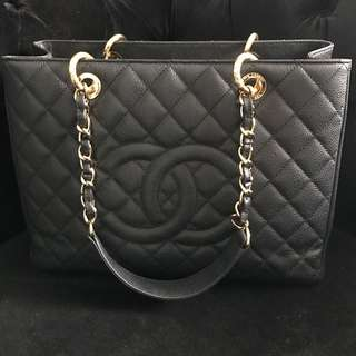 Authentic CHANEL GST GHW Bag