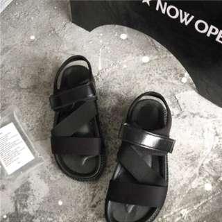 厚底羅馬涼鞋
