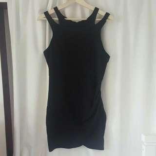Purehype Size Medium Black Dress