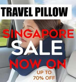 Travel/ Car Neck Pillow. Memory Foam