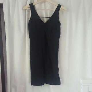 Supre Size Large Black Dress