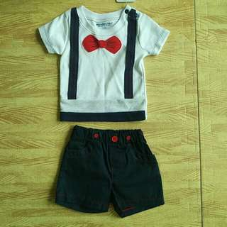 BN Boy Outfit 3-6M