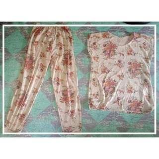 Elegant Floral Overall
