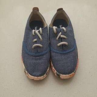 Timberland牛仔布鞋