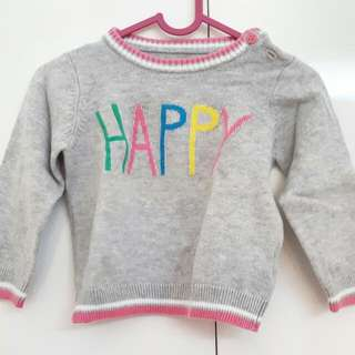 Happy Baby Sweater From Mothercare
