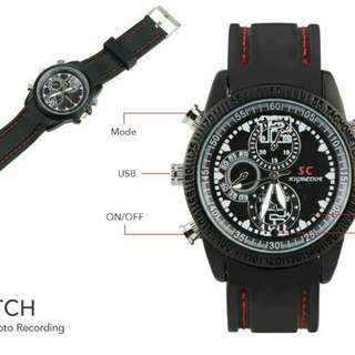 Full HD Spy Watch 8GB Video & Photo Recording