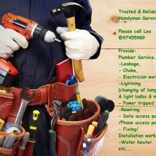 Trusted And Reliable Handyman services