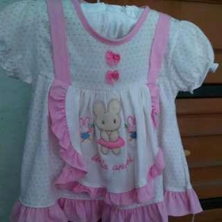 Dress Bayi 0-3m