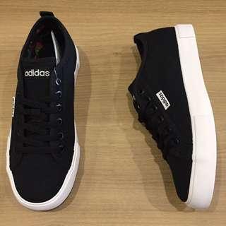 adidas neosole w 黑 白 帆布鞋 休閒鞋 布鞋 全新 保證正品