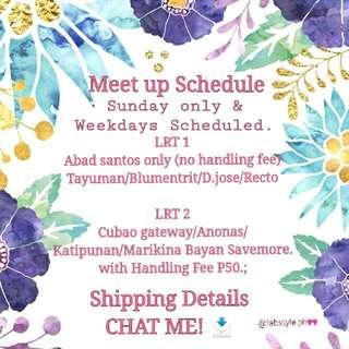 Meetup DETAILS/ ORDER FORM 🎀