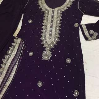 Indian Wedding Dress Size M