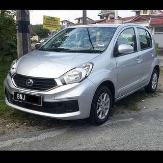 Myvi 1.3X Car Rental / Kereta Sewa