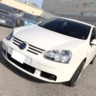 VW GOLF TDI 白色 價格親民 服務實在