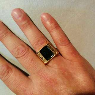 18K Gold Plated Ring size 12