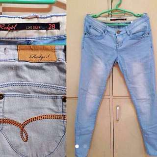 Repriced Red Girl Jeans