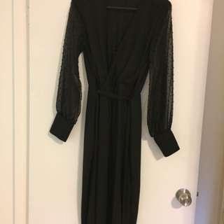 Sheike Black Dress Size 8