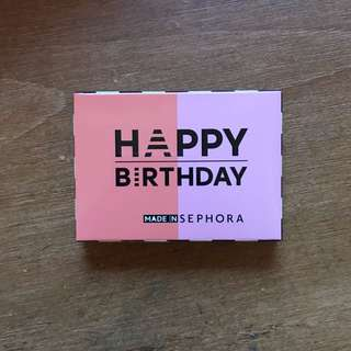 FREE Happy Birthday Sephora Blush