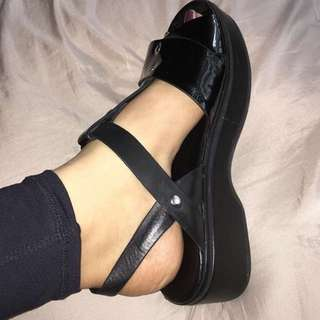 Wittner Black Platforms