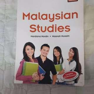 Malaysian Studies Book