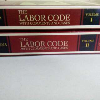 The Labor Code With Comments And Cases By Azucena 7th Edition (Volumes I And II)