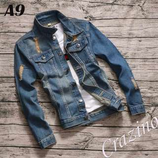 Slim Denim Jacket Jeans Jacket
