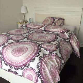 Double Bed With It's Mattress