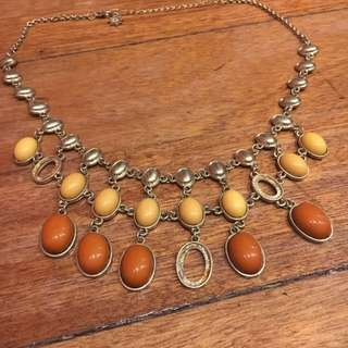 Faux Vintage Feel Necklace