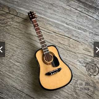 原木吉他模型|音樂吉他搖滾生日禮物禮物擺件配件素體人偶娃娃模型